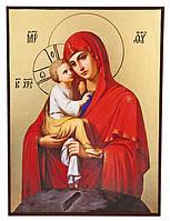 Икона Божией Матери Почаевская (позолота) Арт. 165