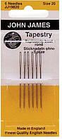 Иглы вышивальные №20 Tapestry Needles