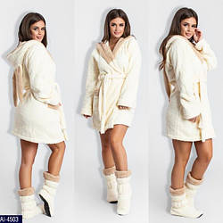 Махровые халаты и пижамы