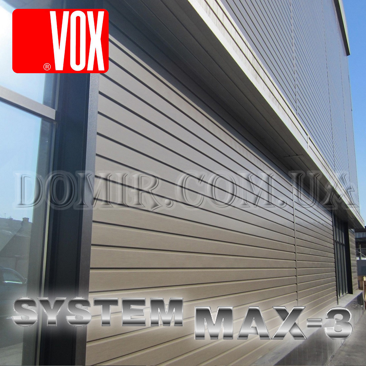 Сайдинг VOX MAX System 3