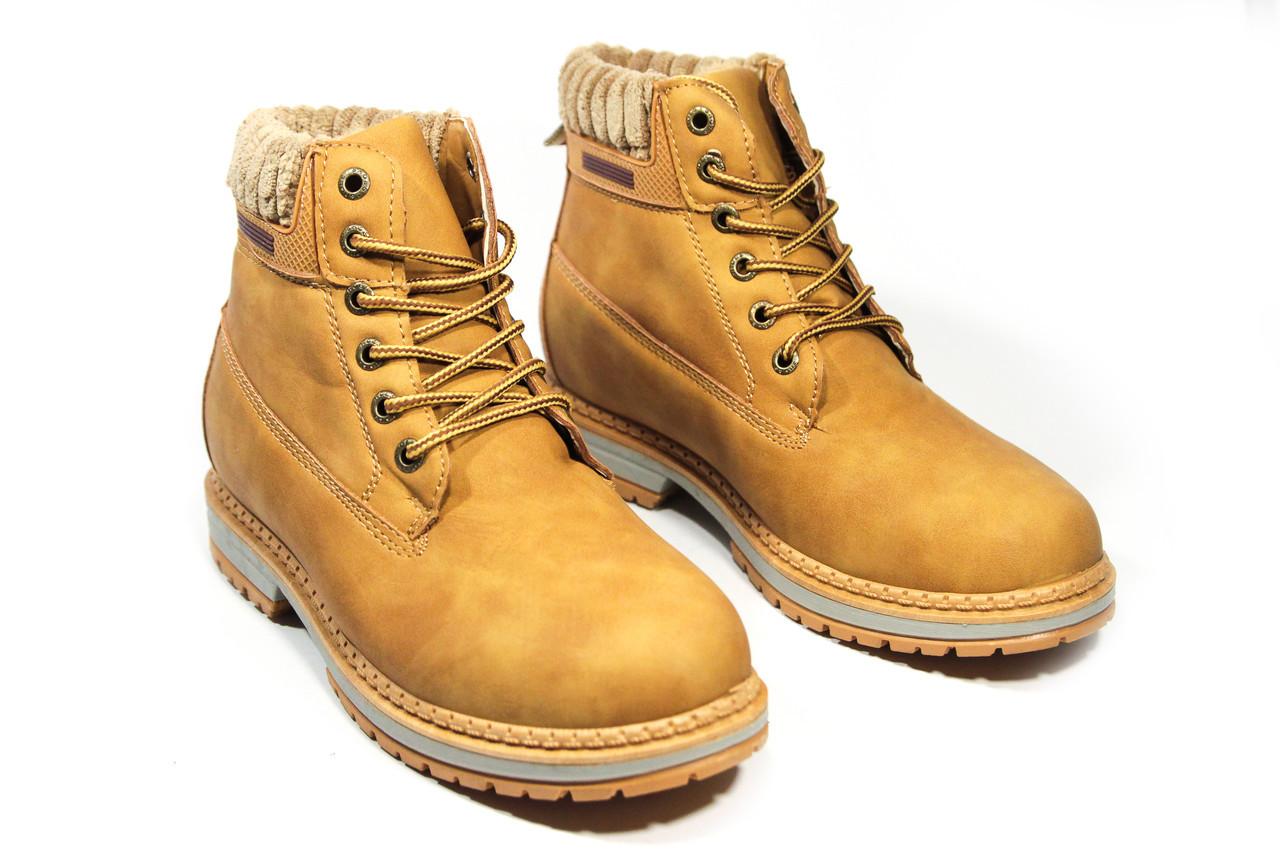 Зимние ботинки (на меху) женские Vintage   18-164