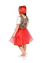 """Детский карнавальный костюм """"Красная Шапочка New"""" для девочки, фото 3"""