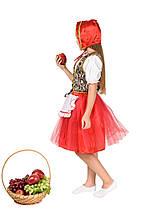 """Детский карнавальный костюм """"Красная Шапочка New"""" для девочки, фото 2"""