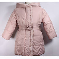 Зимове пальто для дівчинки Ceremony by Wojcik 28322 р. 122