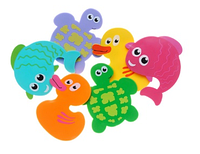 Набор мини ковриков для купания и игры малыша в ванной  тм KinderenOK