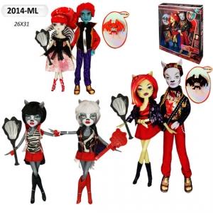 Кукла Монстр Хай 2014ML +мальчик, 3 вида