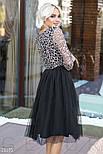 Оригинальное вечернее платье черного цвета, фото 2