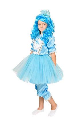 """Детский карнавальный костюм """"Мальвина New"""" для девочки, фото 2"""