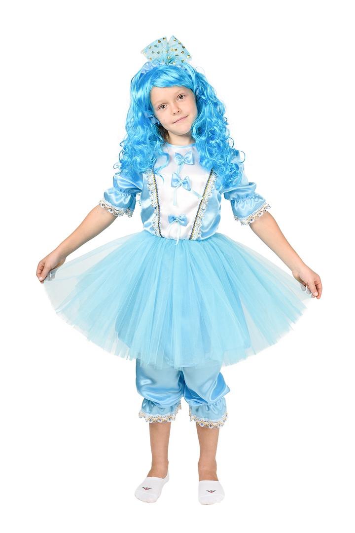 """Детский карнавальный костюм """"Мальвина New"""" для девочки"""