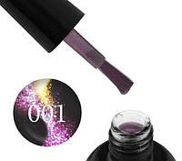 Гель-лак Starlet Professional 5D Cat Eye № 001, розово-фиолетовый блик, 10 мл