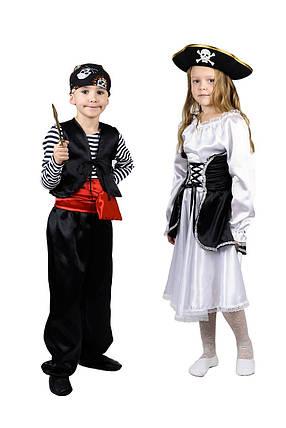 """Детский карнавальный костюм """"Пиратка"""" для девочки, фото 2"""