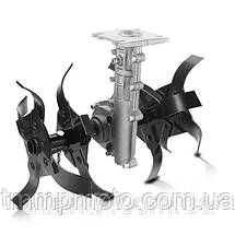 Насадка культиватор(фреза) для мотокоси (9T-вал ,26mm - штанга), фото 3