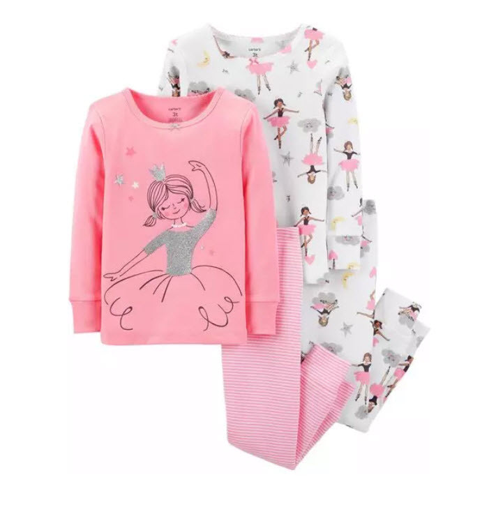 Пижама Carters  хлопок Балерина  2Т