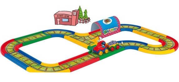 Железная дорога 3,1м Тигрес Wader 51701, фото 2