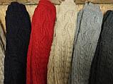 (50cm-6шт)Длинные вязание шерсти трикотаж  женские перчатки только оптом, фото 2