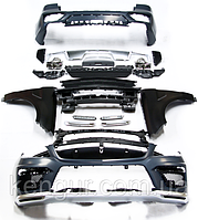Комплект обвеса AMG63 на Mercedes  ML-Class W166, фото 1