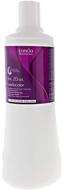 Окислительная эмульсия Londa Professional Permanent Cream 6%, 1000 мл