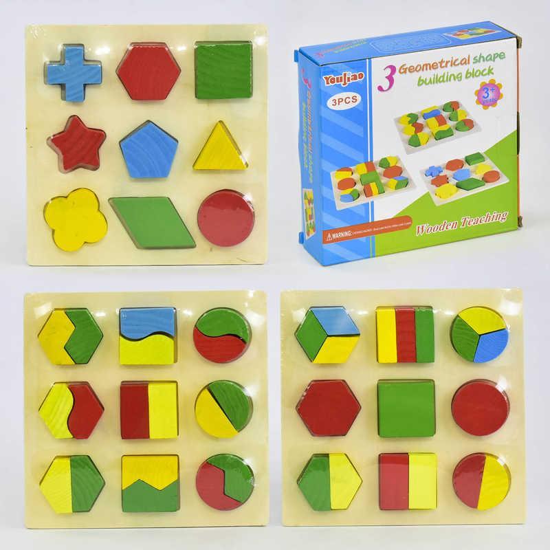 Деревянная  игра Геометрика C 30333 (48)