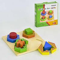 Деревянная рамка-вкладыш Геометрия С 30303 (60)