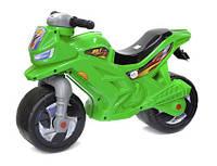 Мотоцикл 2х колесный ЗЕЛЕНЫЙ