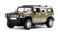 Машинка на радиоуправлении Hummer H2 хаки (машины на пульте управления,радиоуправляемые модели), фото 1