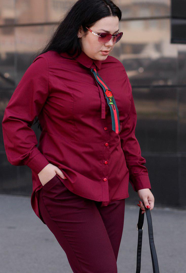 f294d16898b Рубашка Галстук Батал +  O V — в Категории