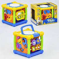 """Игра """"Волшебный кубик"""" 7502 Play Smart (12/4) музыкальный, в коробке"""