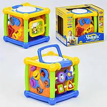 """Гра """"Чарівний кубик"""" 7502 Play Smart (12/4) музичний, в коробці"""