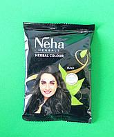 Хна для волос Neha Herbals Black черная, 20 г