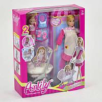 Кукла 99116 (24) с дочкой, с коляской, в коробке
