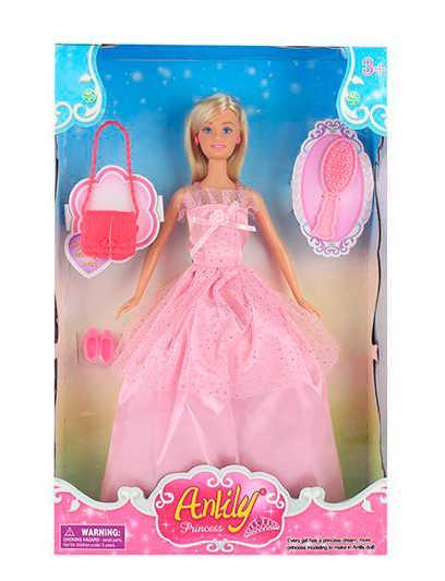 "Кукла Anlily 99029 ""Принцесса"" (48) с аксессуарами, в коробке"