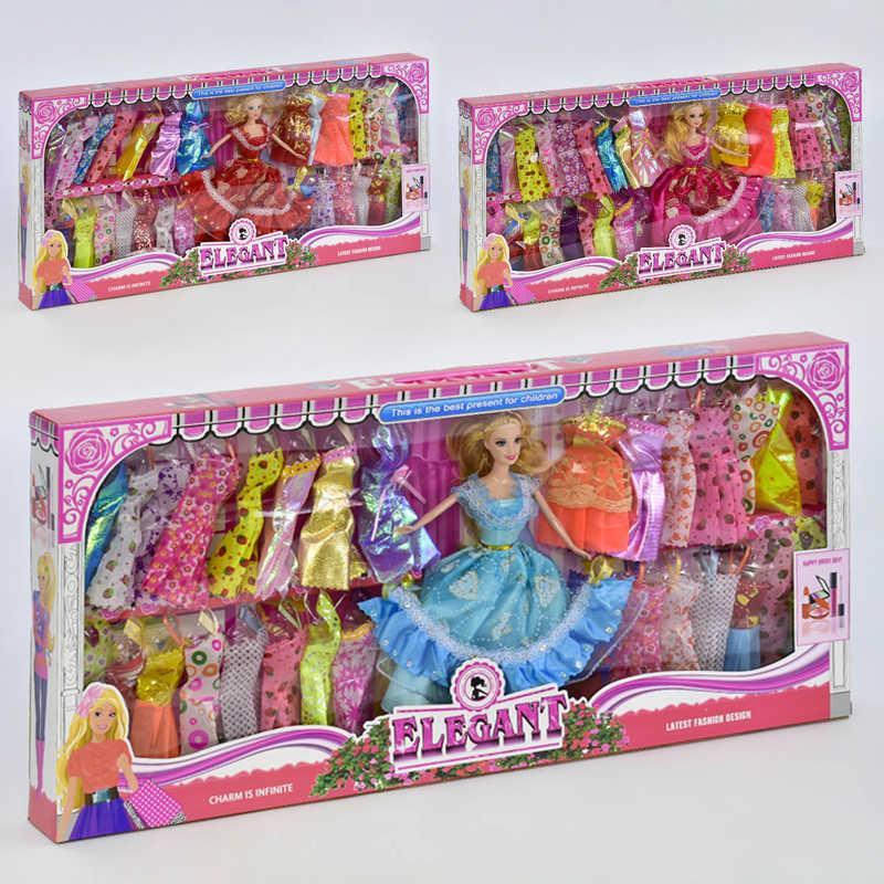 Кукла с нарядом 055 С (24/2) 3 вида, в коробке