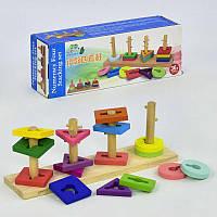 Логическая игра C 30322 (60) Пирамидка-сортер