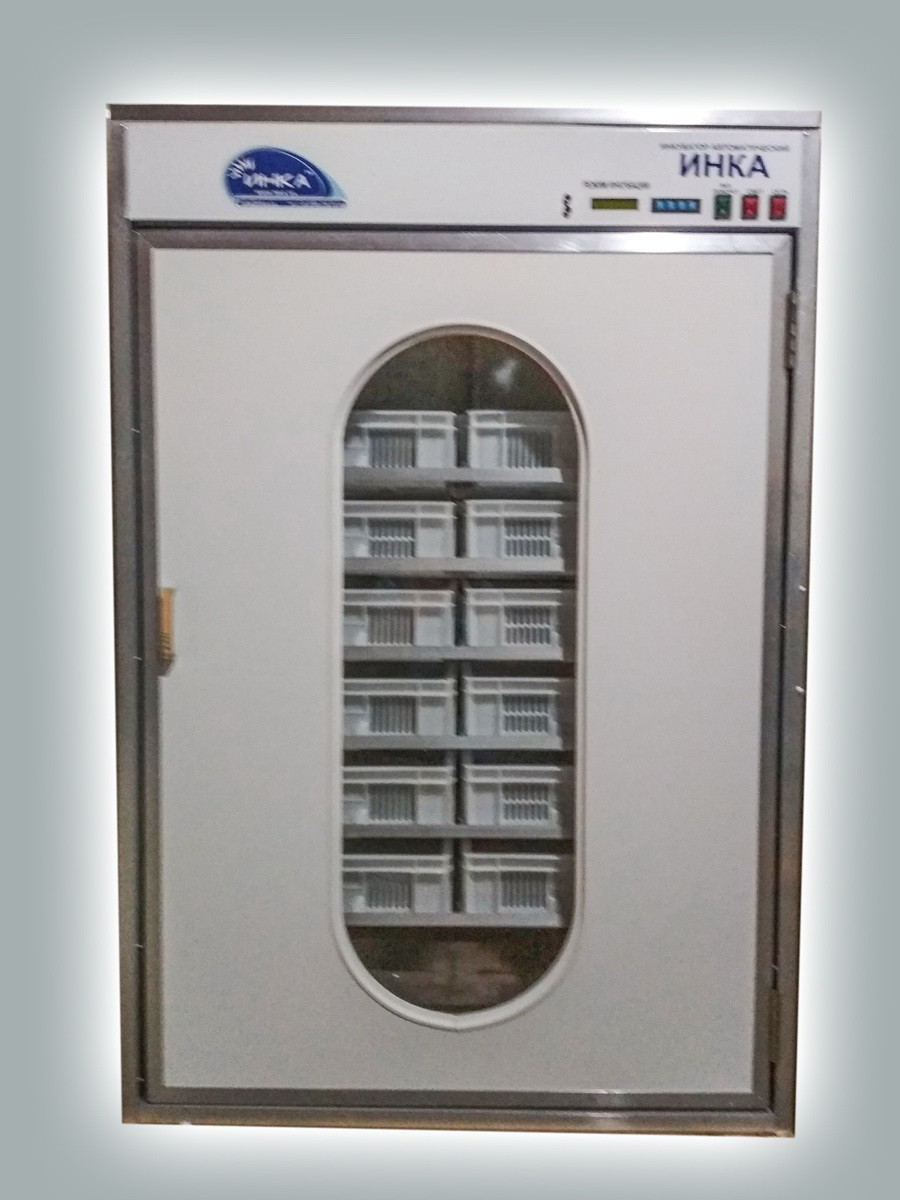 Инкубатор автоматический ИНКА 3 в 1 на1728+432 яиц