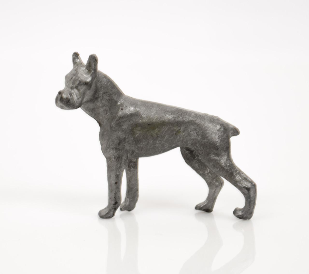 Коллекционная статуэтка, олово, бульдог, Германия