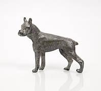 Коллекционная статуэтка, олово, бульдог, Германия, фото 1