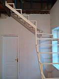 Каркас открытой лестницы в квартиру или дом. Открытая лестница в стиле Хай-Тек, фото 3