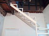 Каркас открытой лестницы в квартиру или дом. Открытая лестница в стиле Хай-Тек, фото 4
