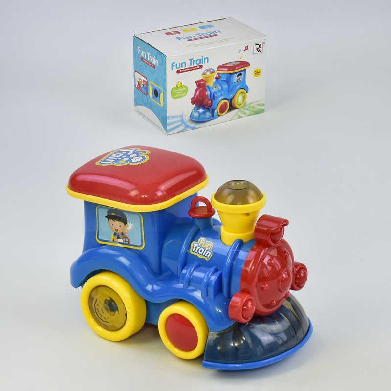 Музыкальная игрушка Веселый паровоз ZR 122 (72) в коробке