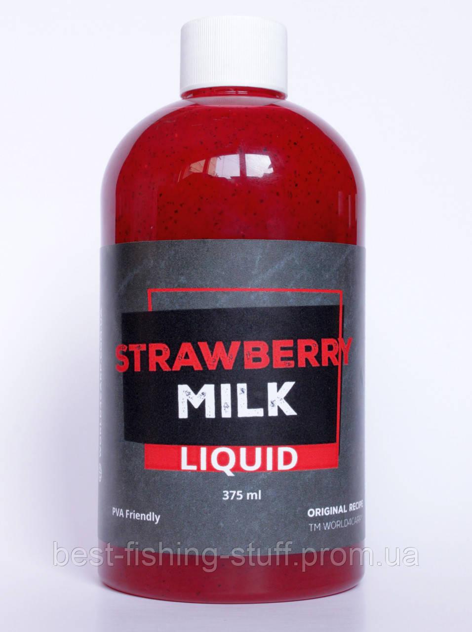 Ликвид Strawberry & Milk Клубника с молоком, 375 ML