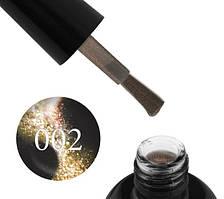 Гель-лак Starlet Professional 5D Cat Eye № 002, золотисто-жёлтый блик, 10 мл