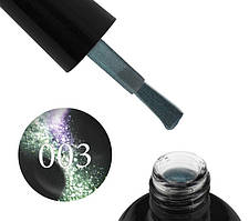 Гель-лак Starlet Professional 5D Cat Eye № 003, фиолетово-зелёный блик, 10 мл