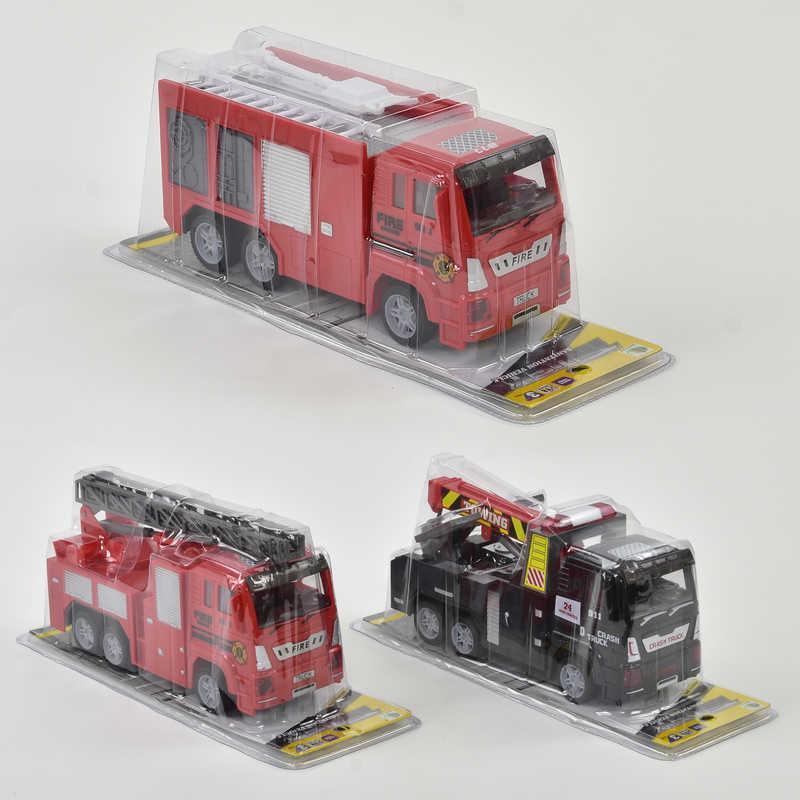 Пожарная машина 89002 С-4-5-6 (72/2) 3 вида, в слюде