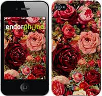 """Чехол на iPhone 4 Цветущие розы """"2701c-15-6129"""""""