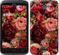 "Чехол на HTC One X+ Цветущие розы ""2701c-69-6129"""