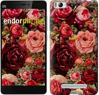 """Чехол на Xiaomi Mi4i Цветущие розы """"2701c-177-6129"""""""