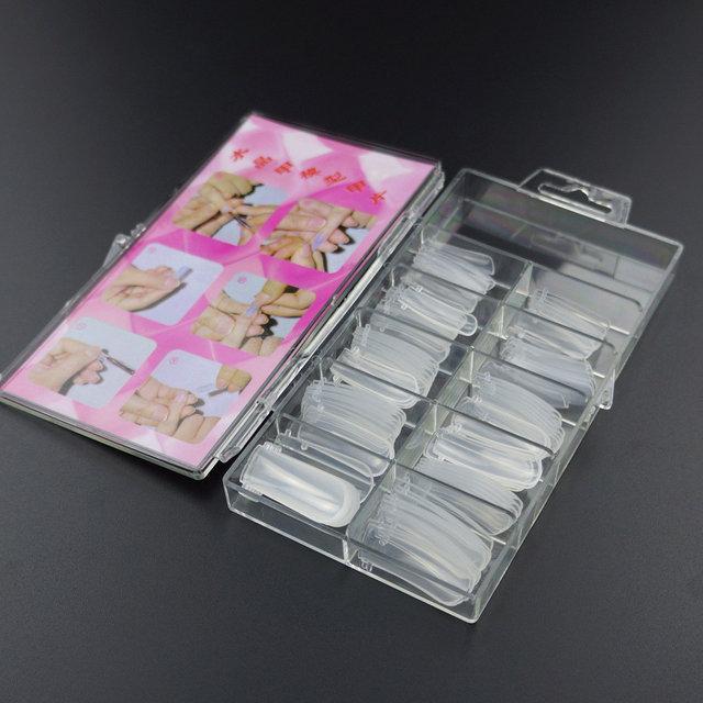 Верхние силиконовые формы для наращивания , 100 шт/упак