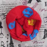 Детский вязаный шарф - кольцо