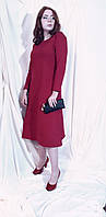 Платье женское миди  двухнитка Сукня жіноча міді двонитка з кишенями