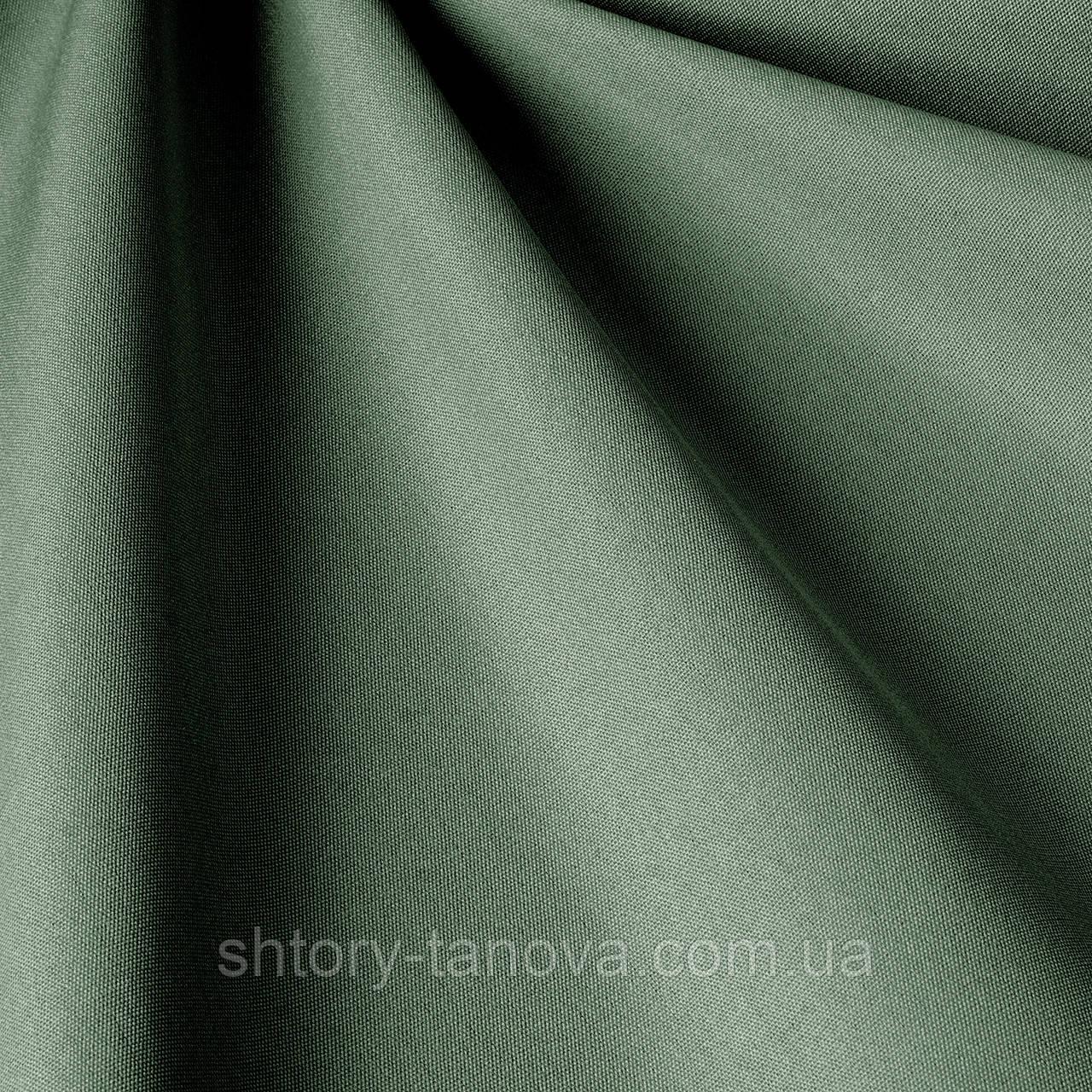 Однотонна тканина для вулиці графітового кольору